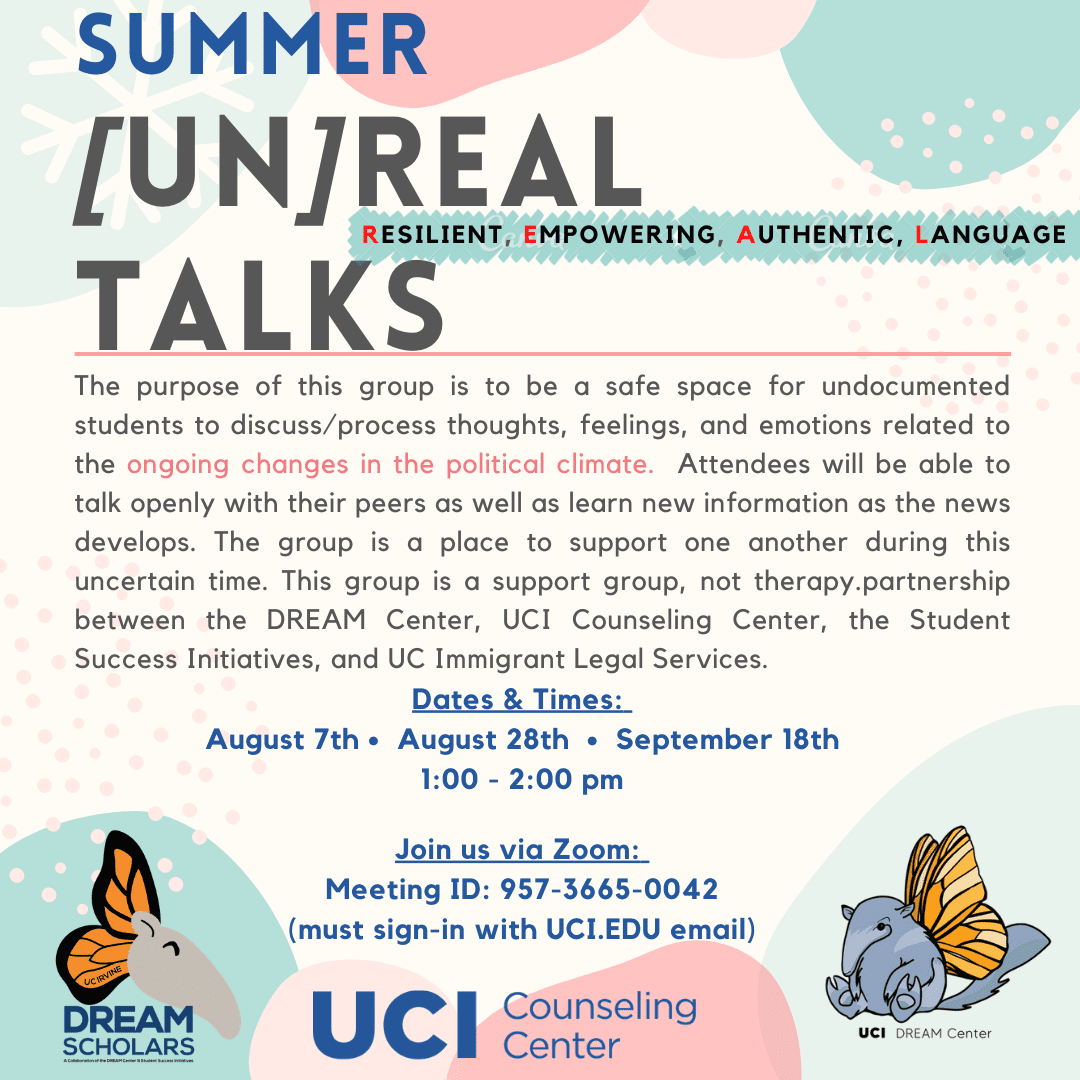 Summer [un]REAL Talks